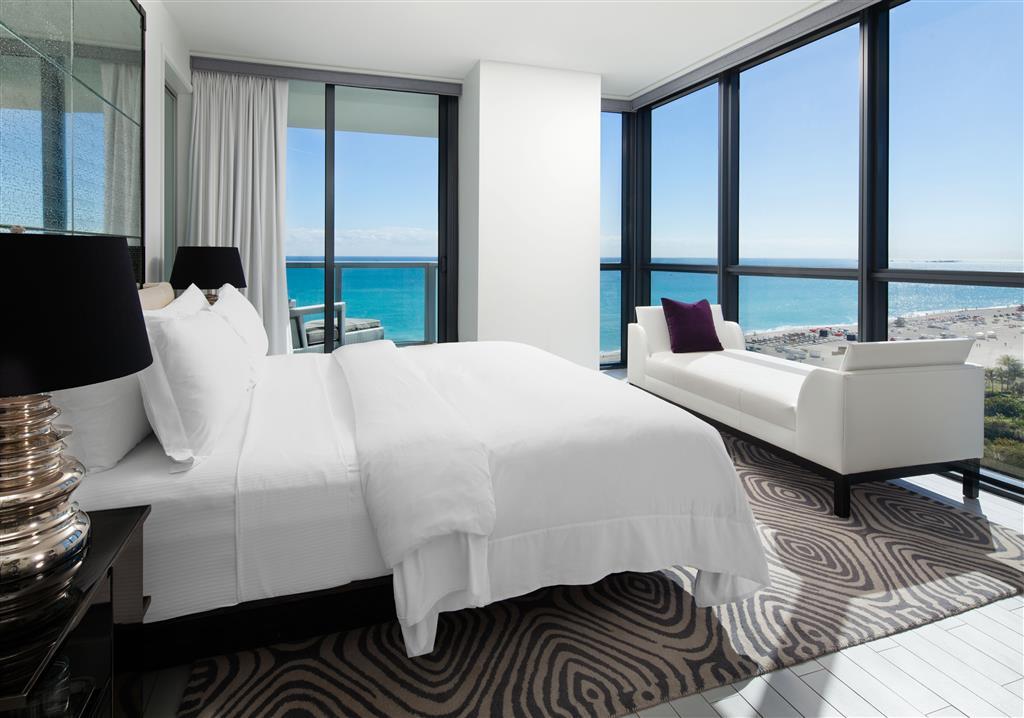 W South Beach bedroom