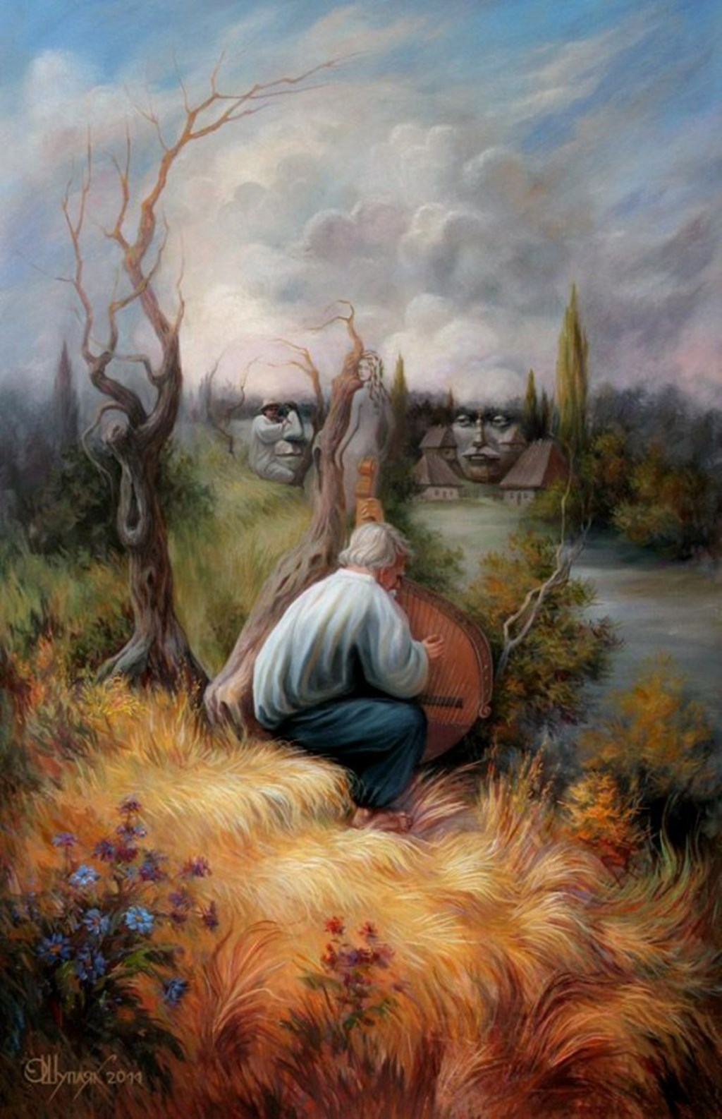 Paintings with hidden pictures