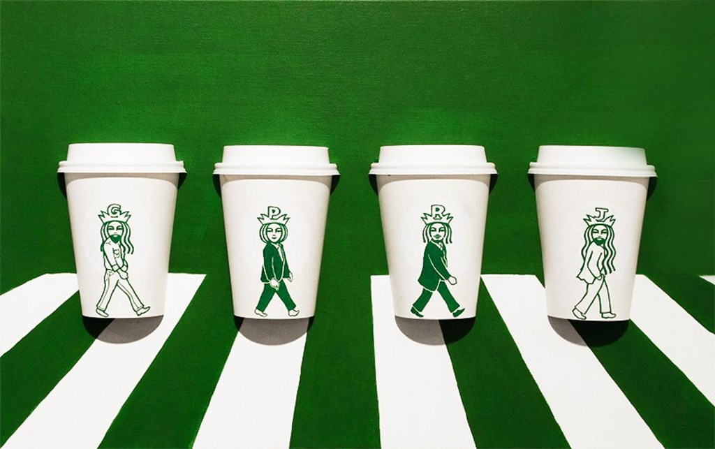 Artist Illustrated Starbucks Cups Soo Min Kim Designboom 01