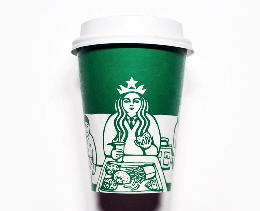 Artist Illustrated Starbucks Cups Soo Min Kim Designboom 06