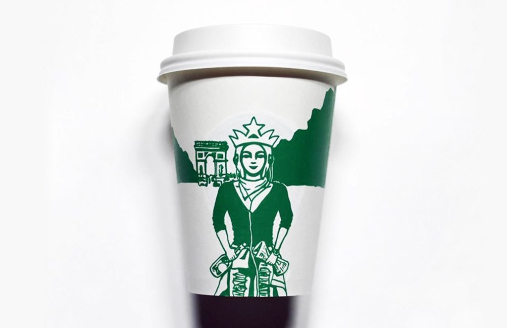 Artist Illustrated Starbucks Cups Soo Min Kim Designboom 15