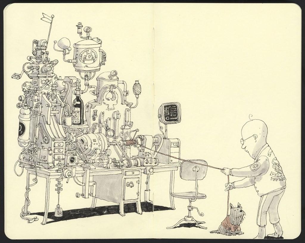 Inside Mattias Adolfssons Sketchbook 2