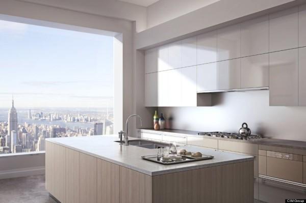 432 Park Avenue penthouse kitchen