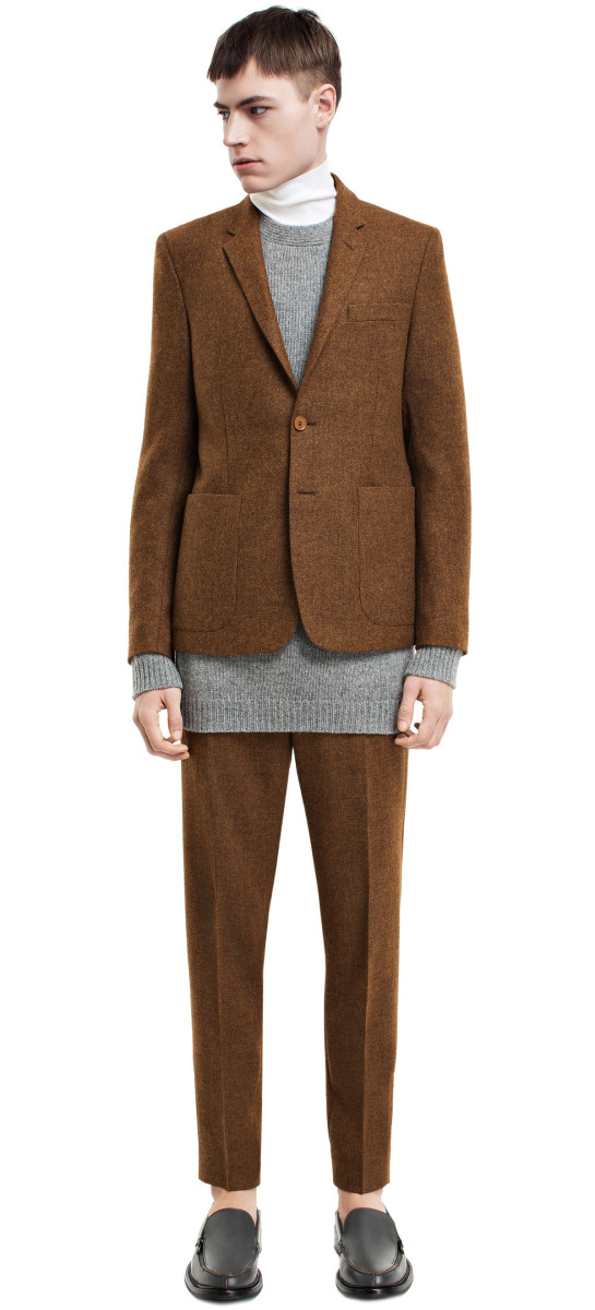 Acne Stan Tweed blazer and trousers FW14