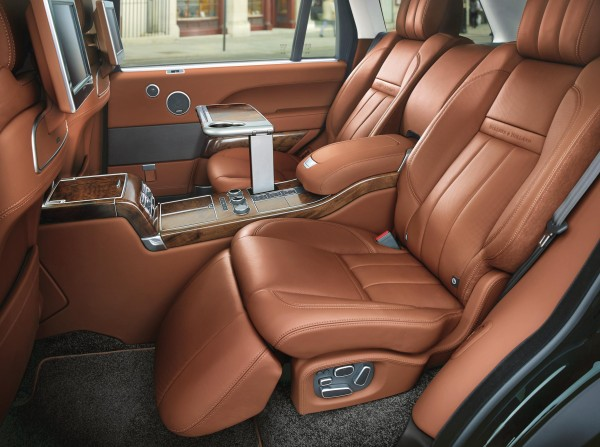 Holland and Holland Range Rover Interior