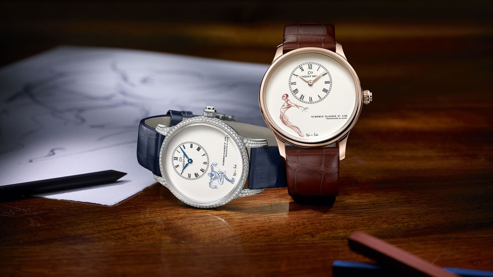 Jaquet Droz Petite Heure Minute watches