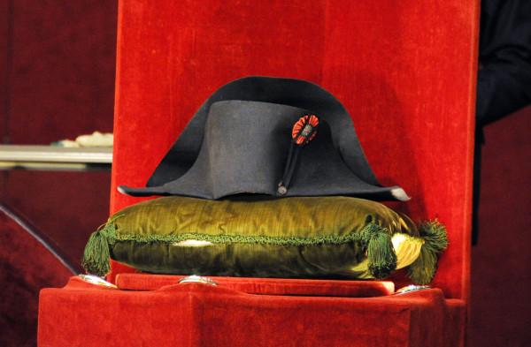 Napoleon's famed two-cornered hat