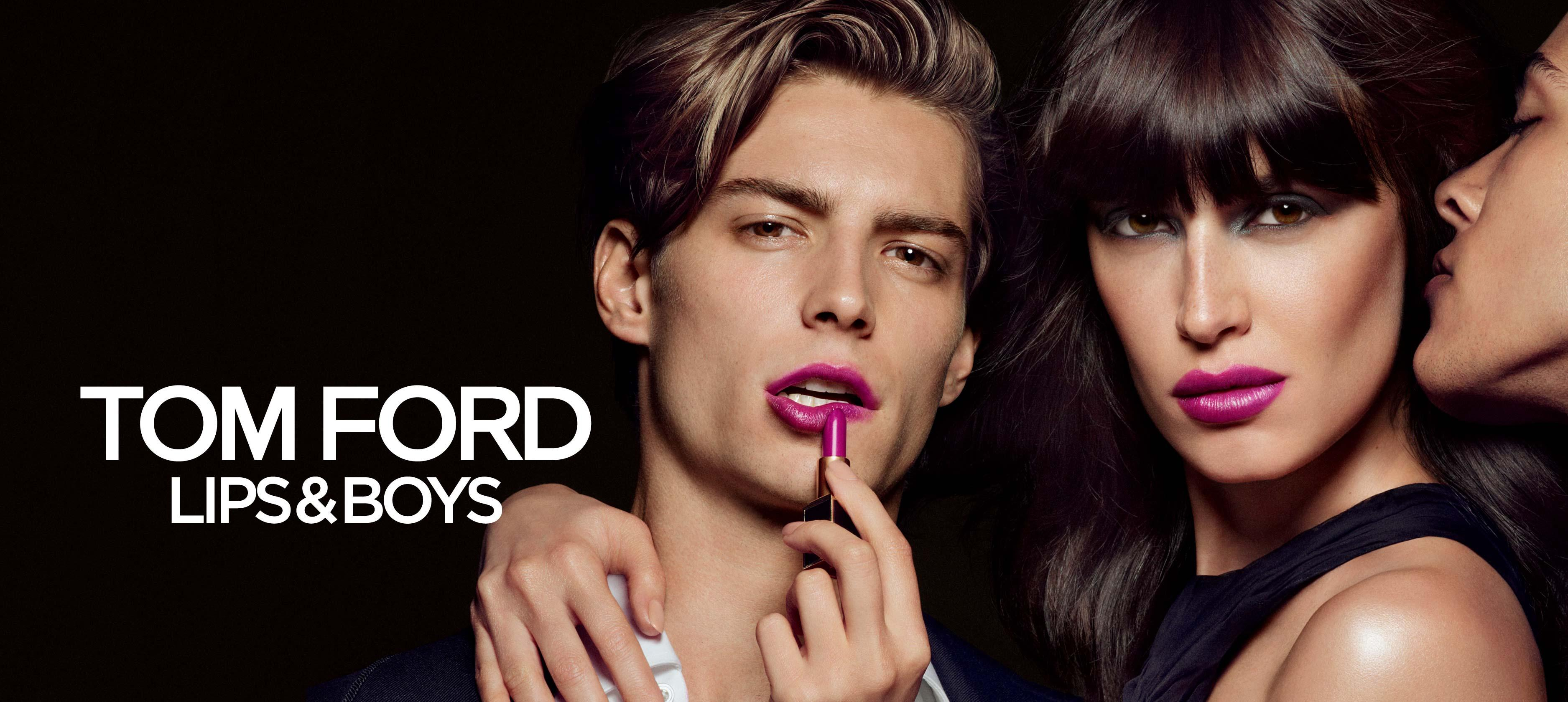 Tom Ford Lips and Boys ad campaign