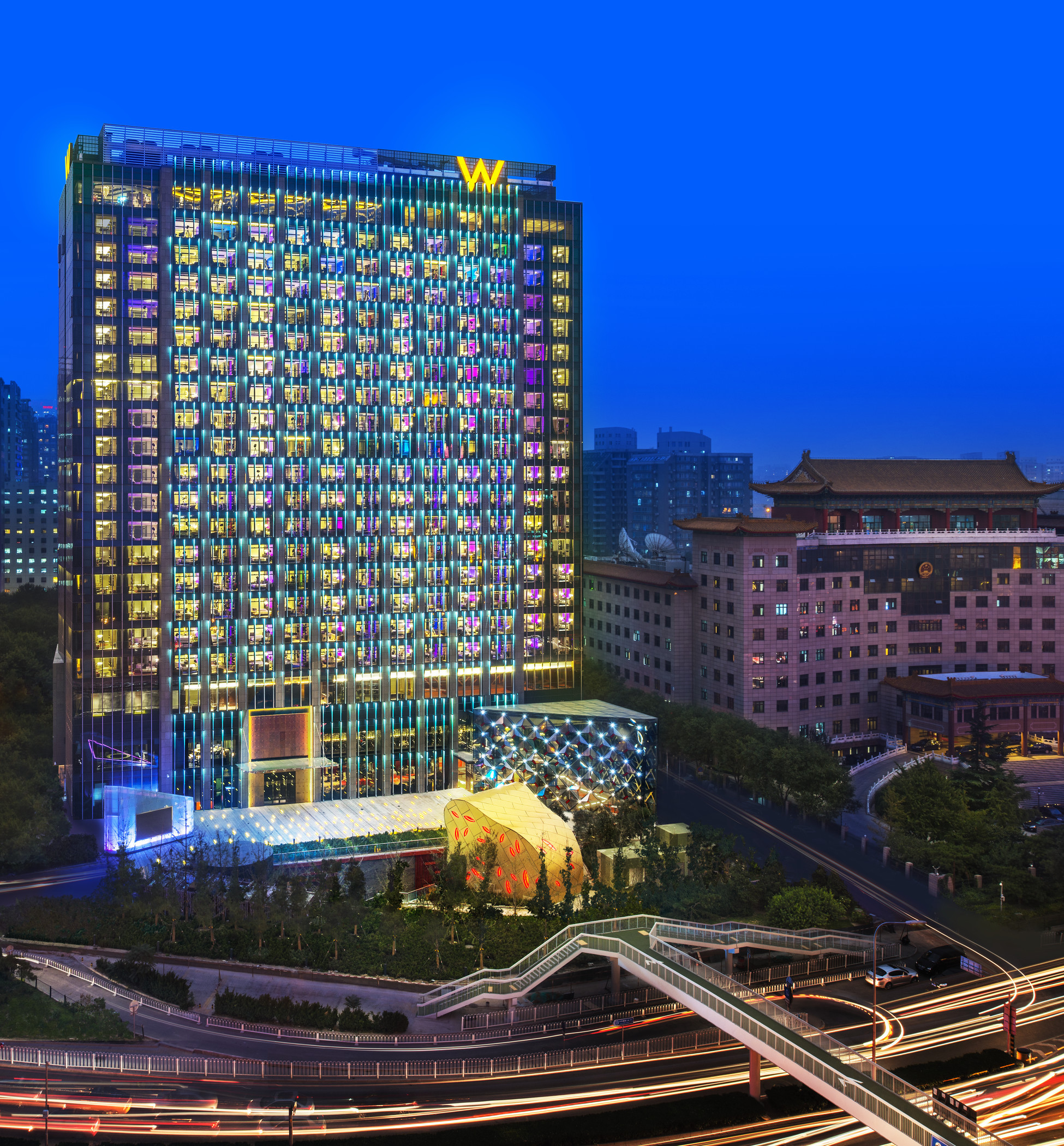W Hotel Opens In Beijing, China