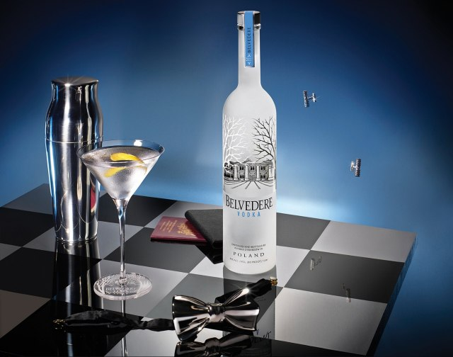 Belvedere Vodka James Bond partnership
