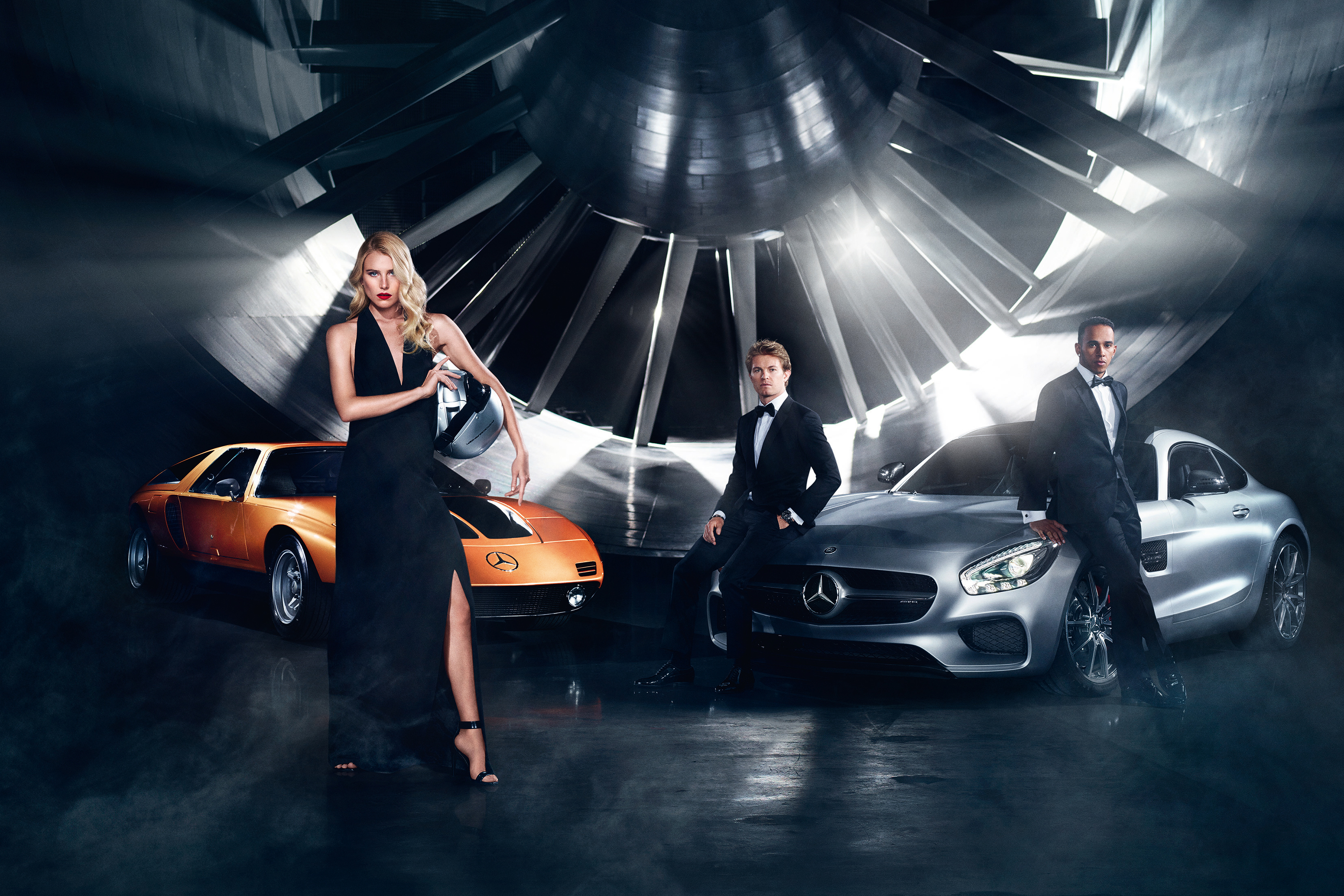 Fall-Winter 2015 campaign by Mercedes-Benz