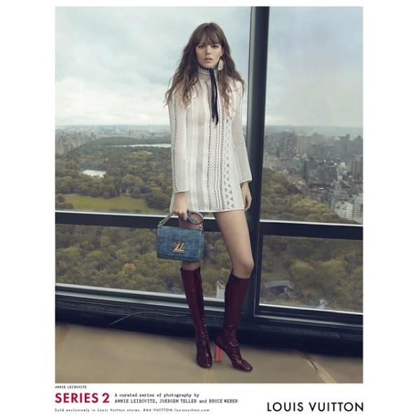 Freja Beha Erichsen Louis Vuitton campaign