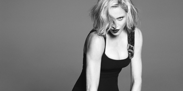 Madonna for Versace