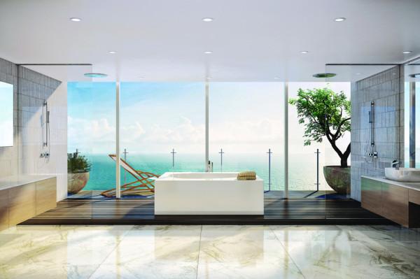Oceana Bal Harbour Penthouse bathroom