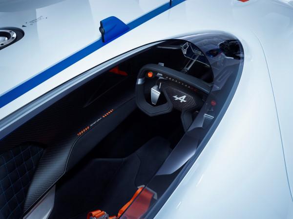 Alpine Vision GT cabin
