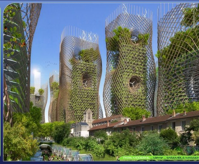 """Bamboo Nest Towers"