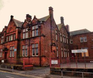 Dreghorn Primary School site