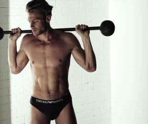 Emporio Armani Underwear SS15 Campaign