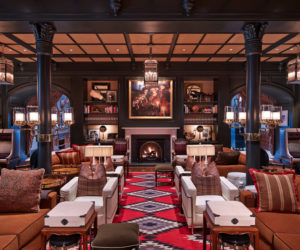 Hotel Jerome Aspen bar