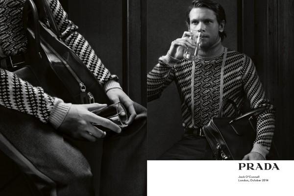 Jack OConnell for Prada menswear
