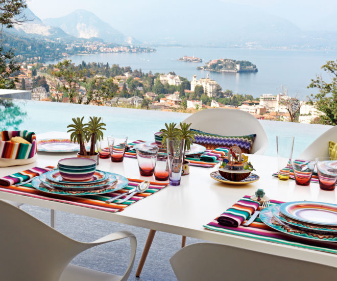 Missoni Home Armchair Miss: Missoni Home Launches Luxury Tableware