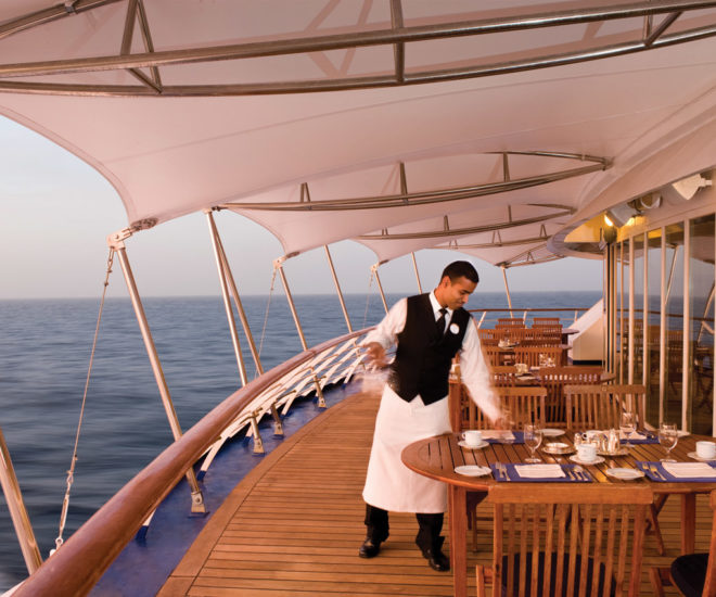 Silverseas Cruises dining