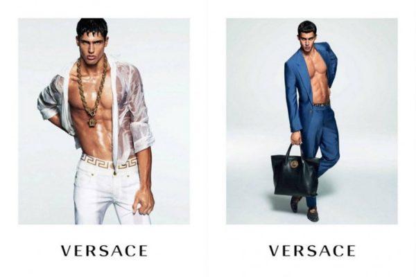 Versace menswear campaign spring 2015