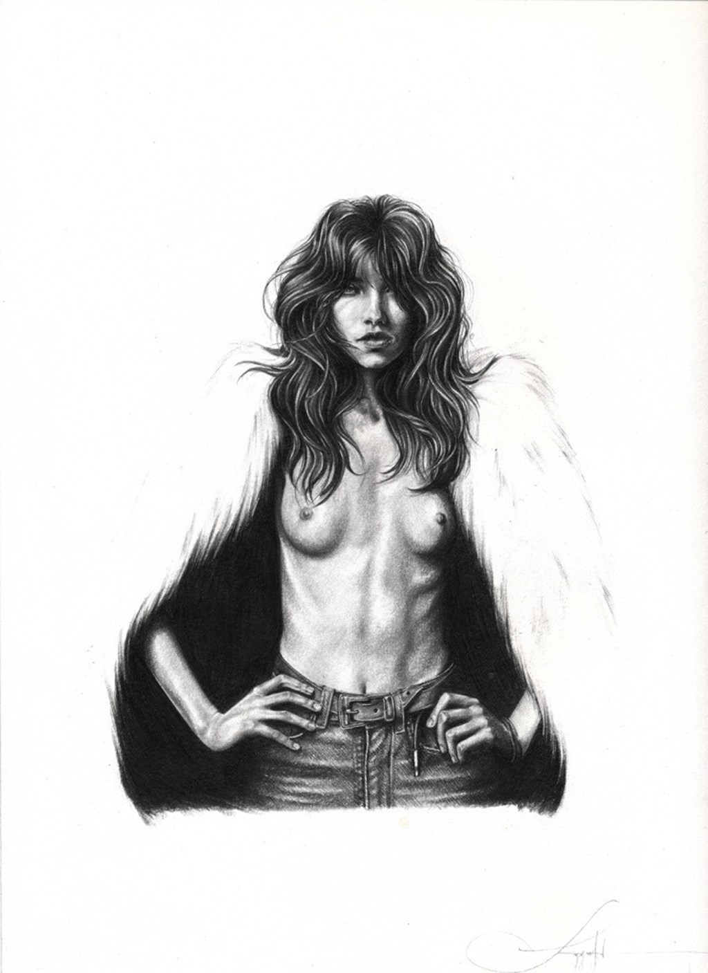 Drawings By Langley Fox