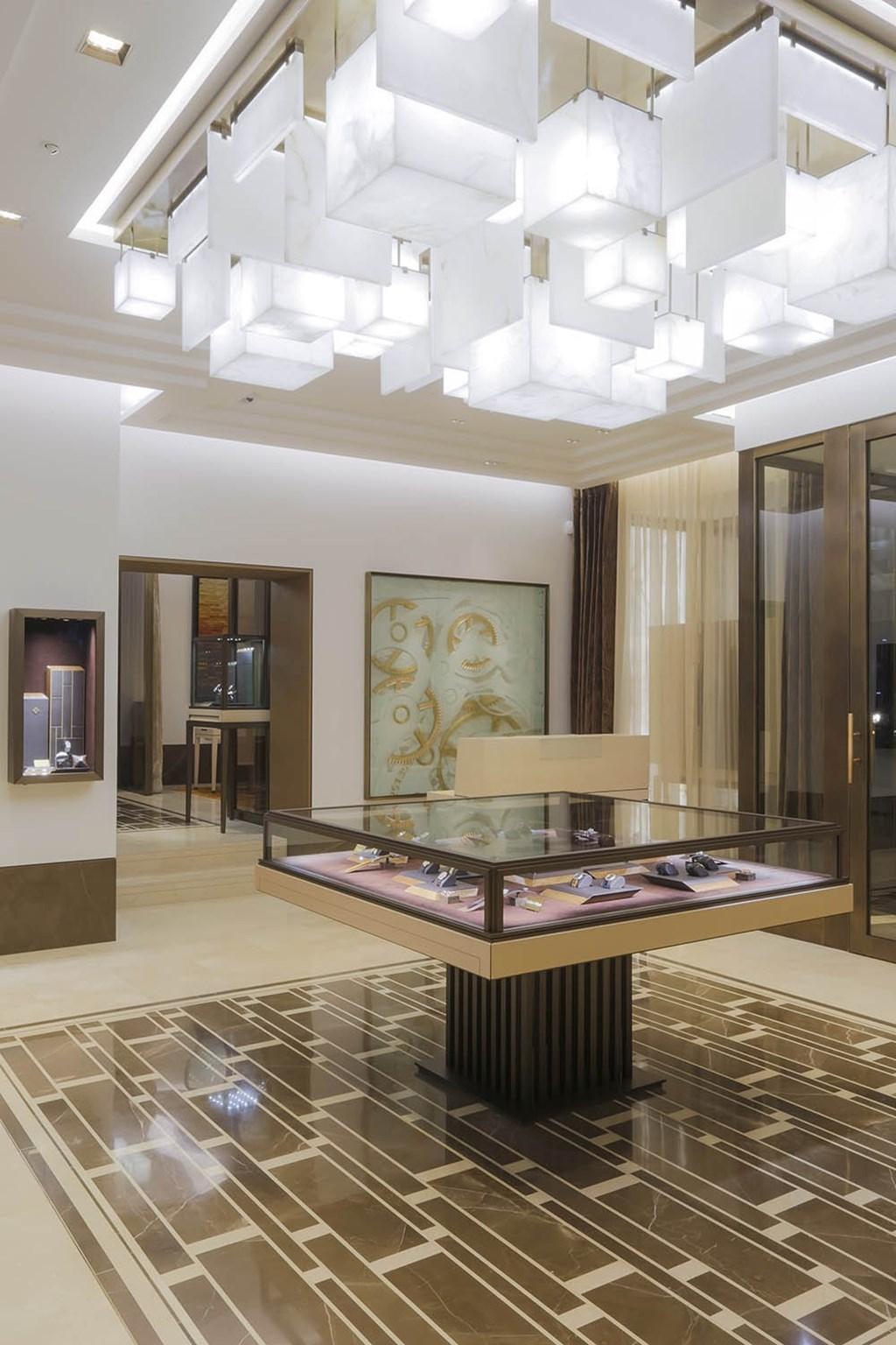 Reopened Patek Philippes London Salon 1