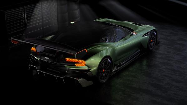 Aston Martin Vulcan side