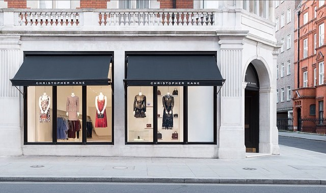 Christopher Kane London flagship