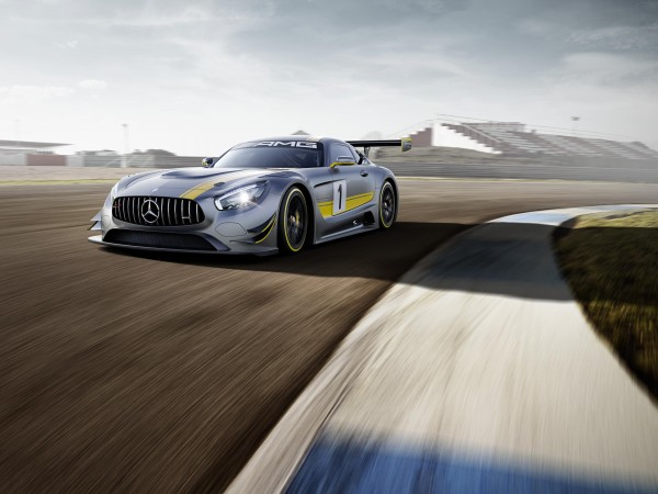 Mercedes AMG GT3 race car
