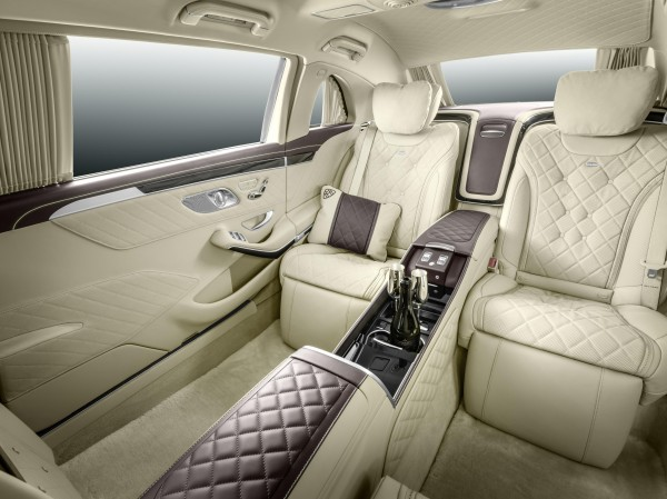 Mercedes-Maybach Pullman interior