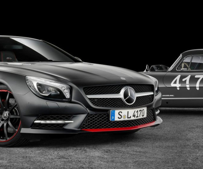 2015 Mercedes Benz Sl Class Camshaft: Mercedes Debuts Limited Edition Mille Miglia SL