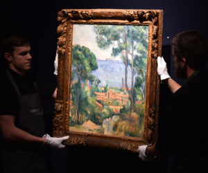 Paul Cezanne painting