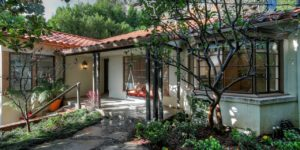Topher Grace lists tiny Hollywood Hills hideaway