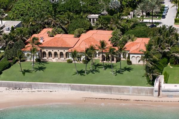 waterfront mansion Palm Beach