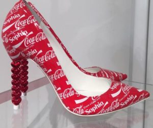 Sophia Webster's Coca-Cola heels