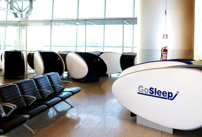 HELSINKI AIRPORT SLEEP PODS