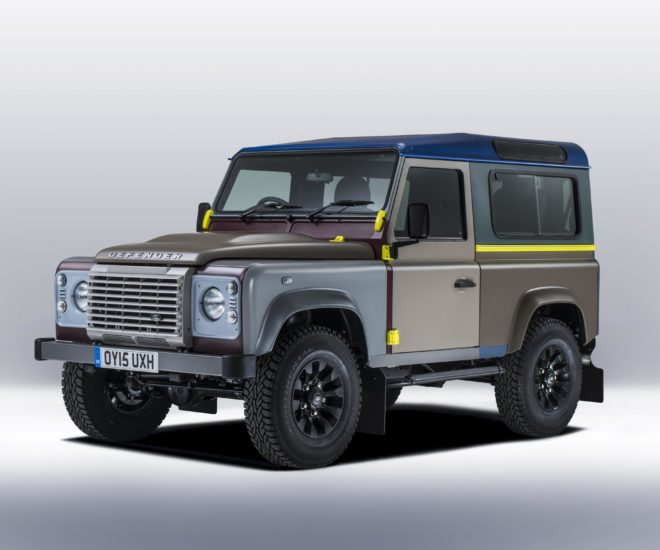 Car Finance Land Rover: Land Rover Defender By Paul Smith