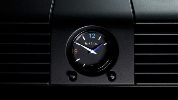 Land Rover Defender Paul Smith clock