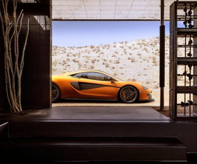 McLaren 570S Coupe orange