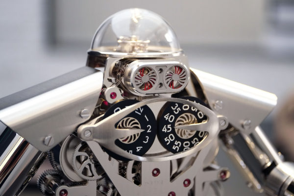 Melchior robot clock