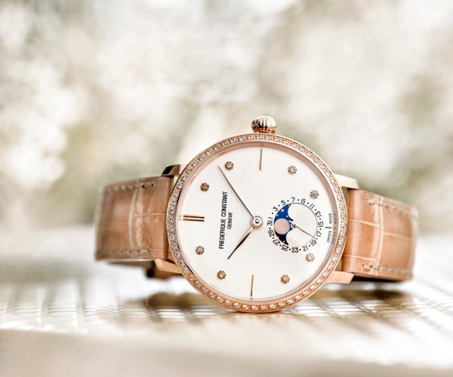Slimline Manufacture Moonphase for Women