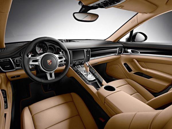 The Porsche Panamera Edition Interior