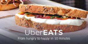 Uber testing food deliveries in France