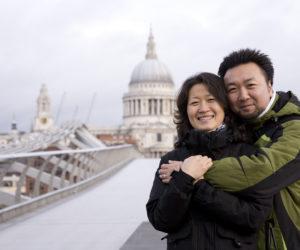 Chinese Tourists Rome