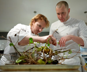 Grant Achatz and Mike Bagale