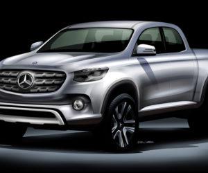 Mercedes Pickup