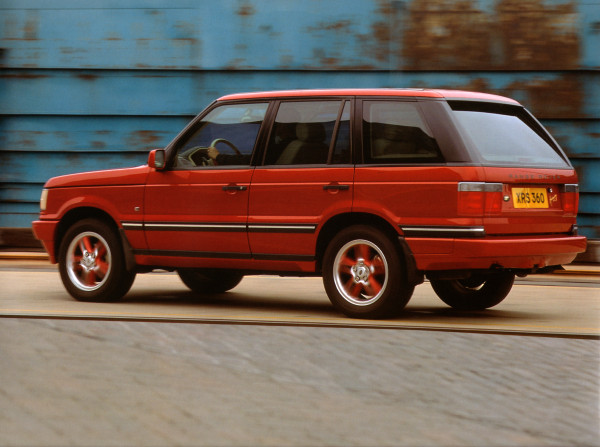 Second generation Range Rover Autobiography